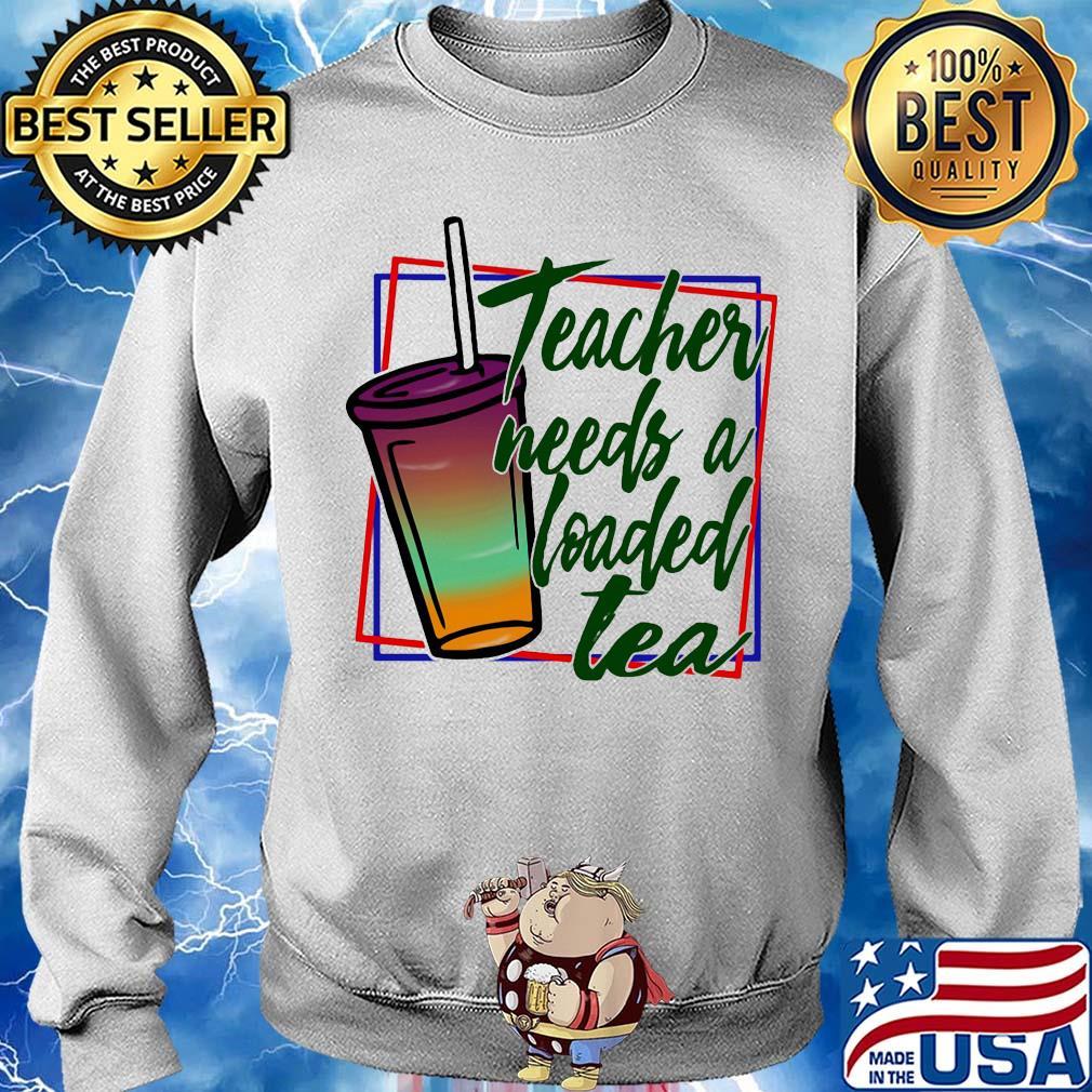 Teacher needs a loaded tea s 12