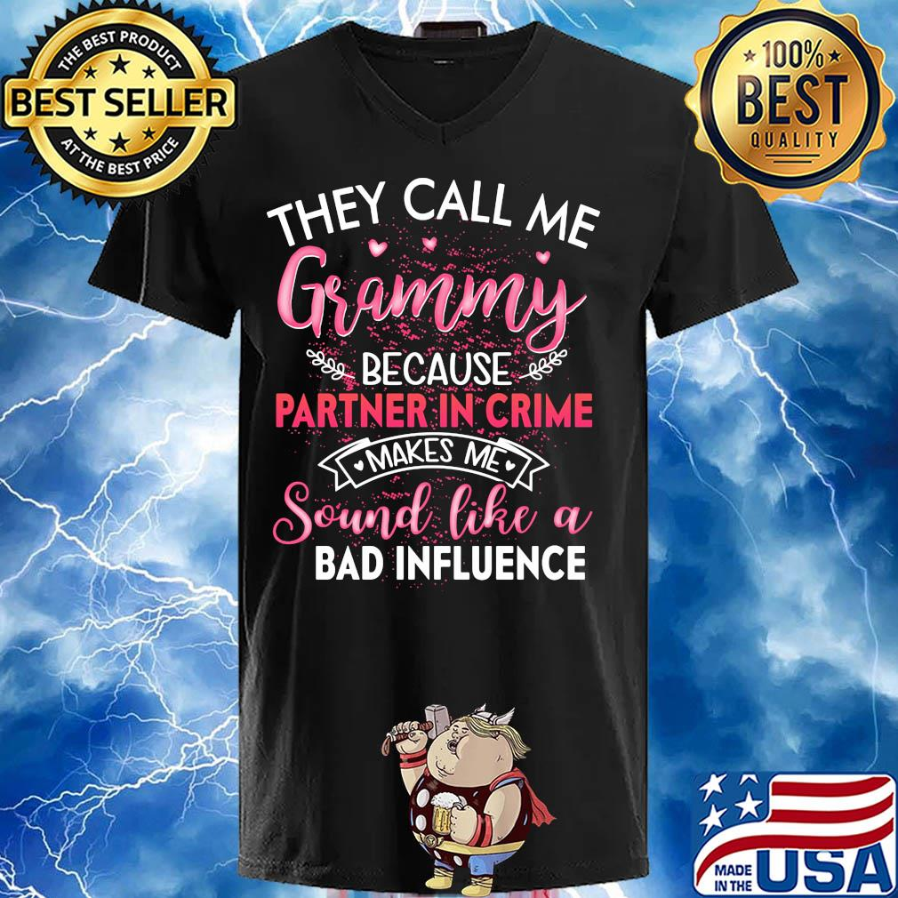 They call me grammy because partner in crime makes me sound like a bad influence s 7