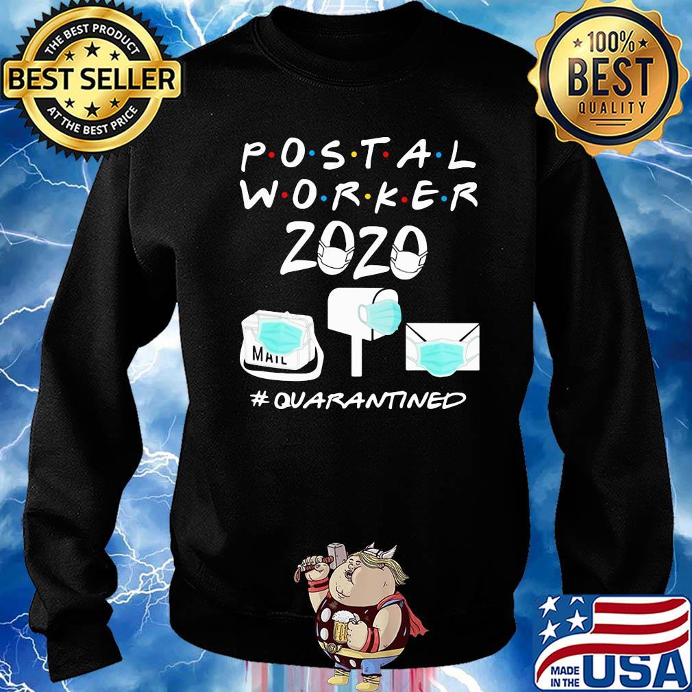 Postal worker 2020 #Quarantined post office s 17