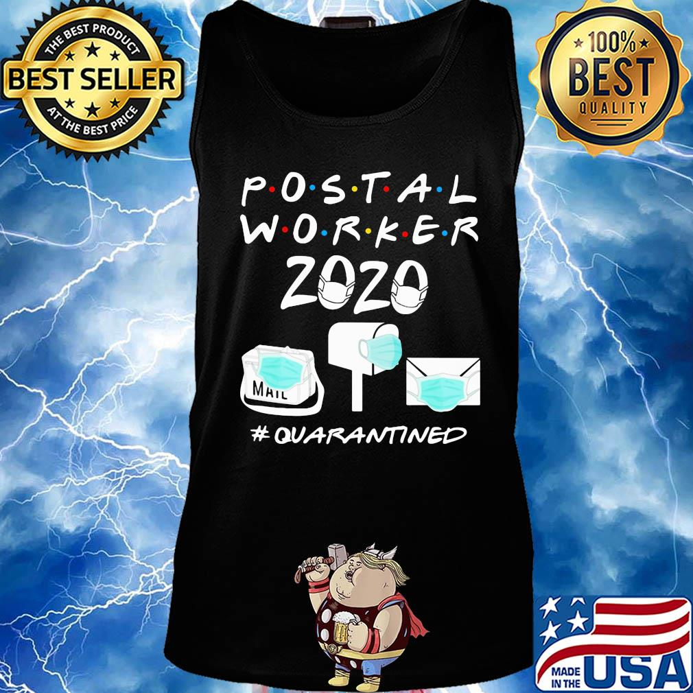 Postal worker 2020 #Quarantined post office s 18
