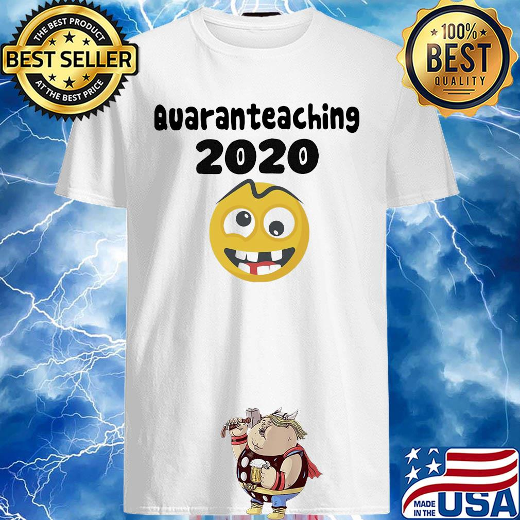 Quaranteaching 2020 icon Covid-19 shirt
