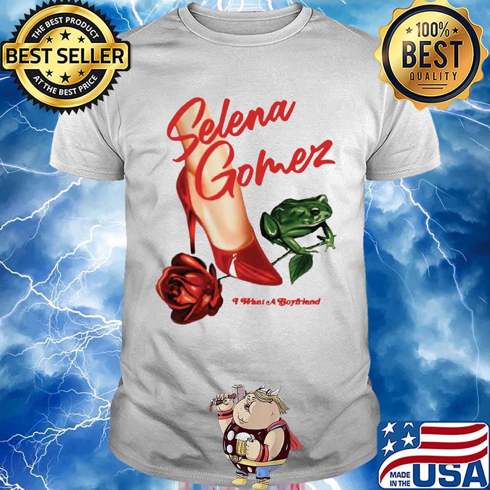 Shoes frog selena gomez what a boyfriend shirt