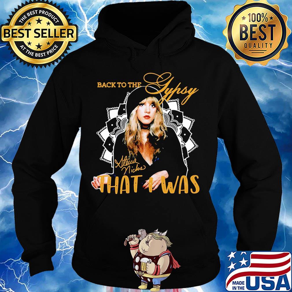Womans Stevie Nicks Long Sleeve Hooded Sweatshirt Pullover