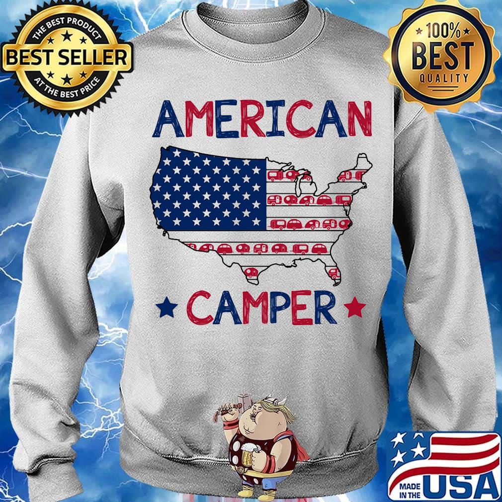 Awkward Styles Happy Camper Unisex Sweatshirt Camper Hoodie for Dad Happy Camper Hoodie