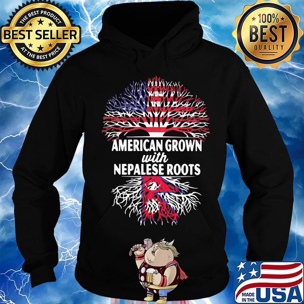American Grown with German Roots Shirt Unisex Hoodie Sweatshirt