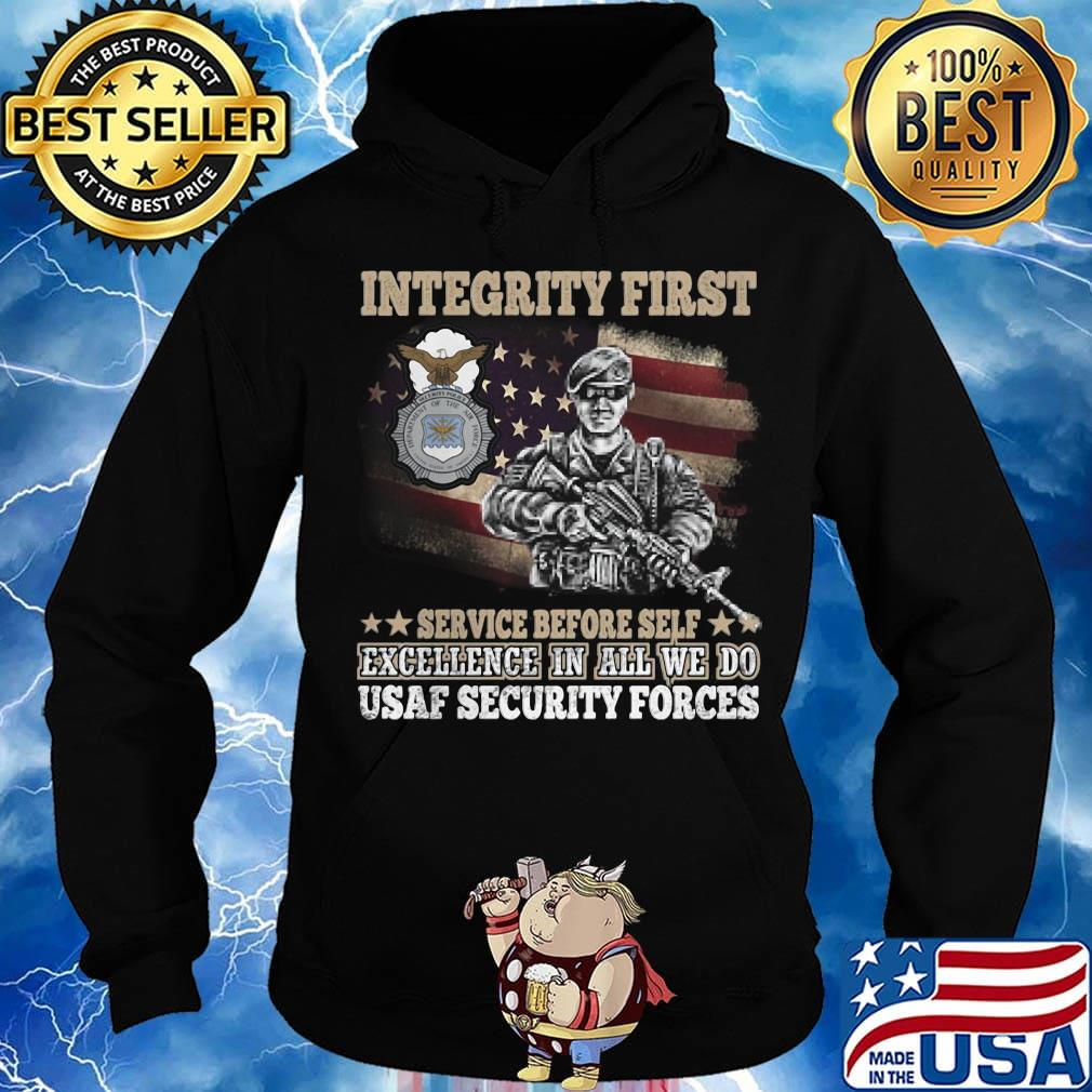 USAF Security Forces Mens Sweatshirts Pullover Crew Neck Sweatshirt