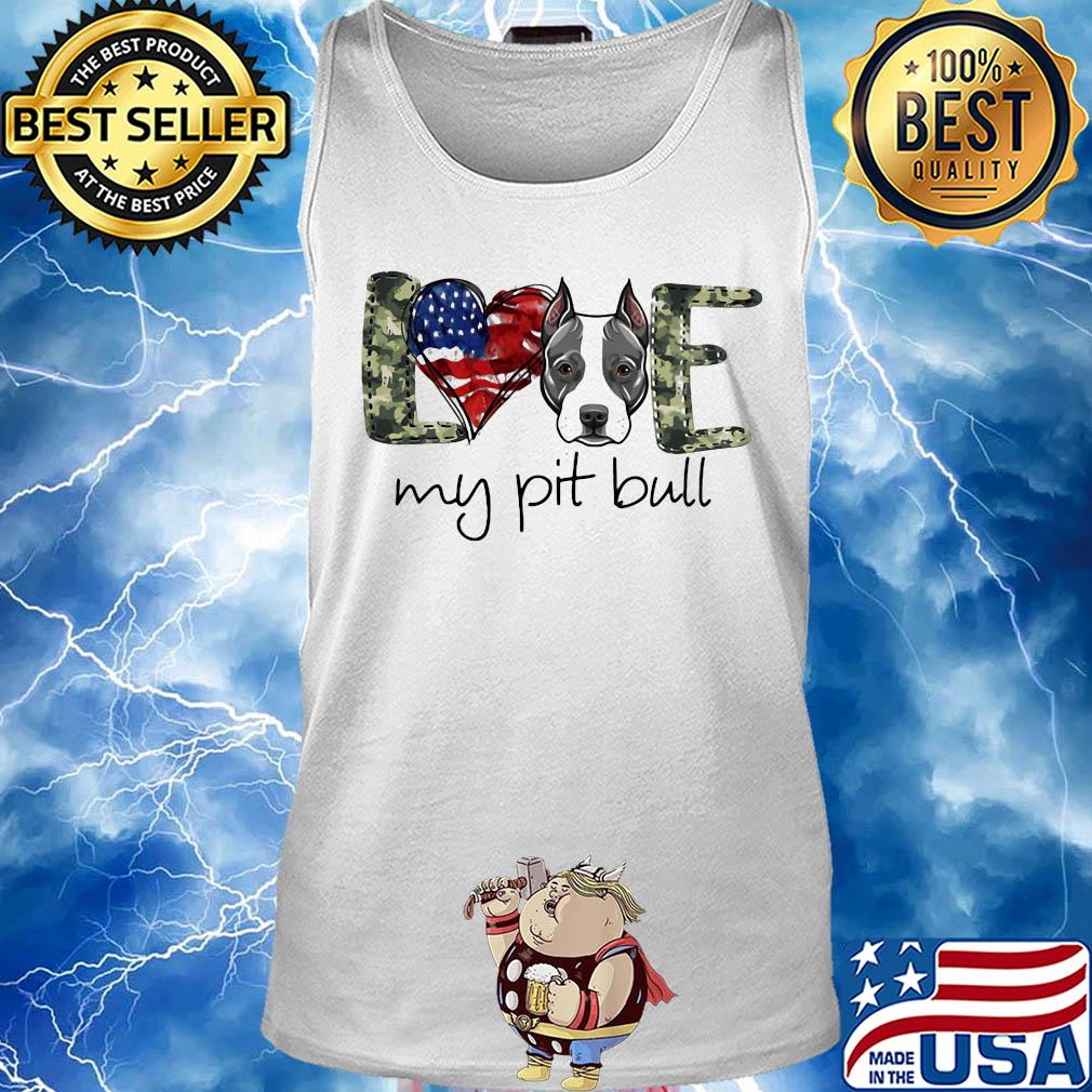 Pitbull American Flag Kids Crew Neck Short Sleeve Shirt Tee Jersey for Toddlers