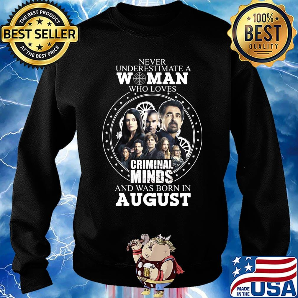 August Girl You Know About Perfect Woman Unisex Sweatshirt tee