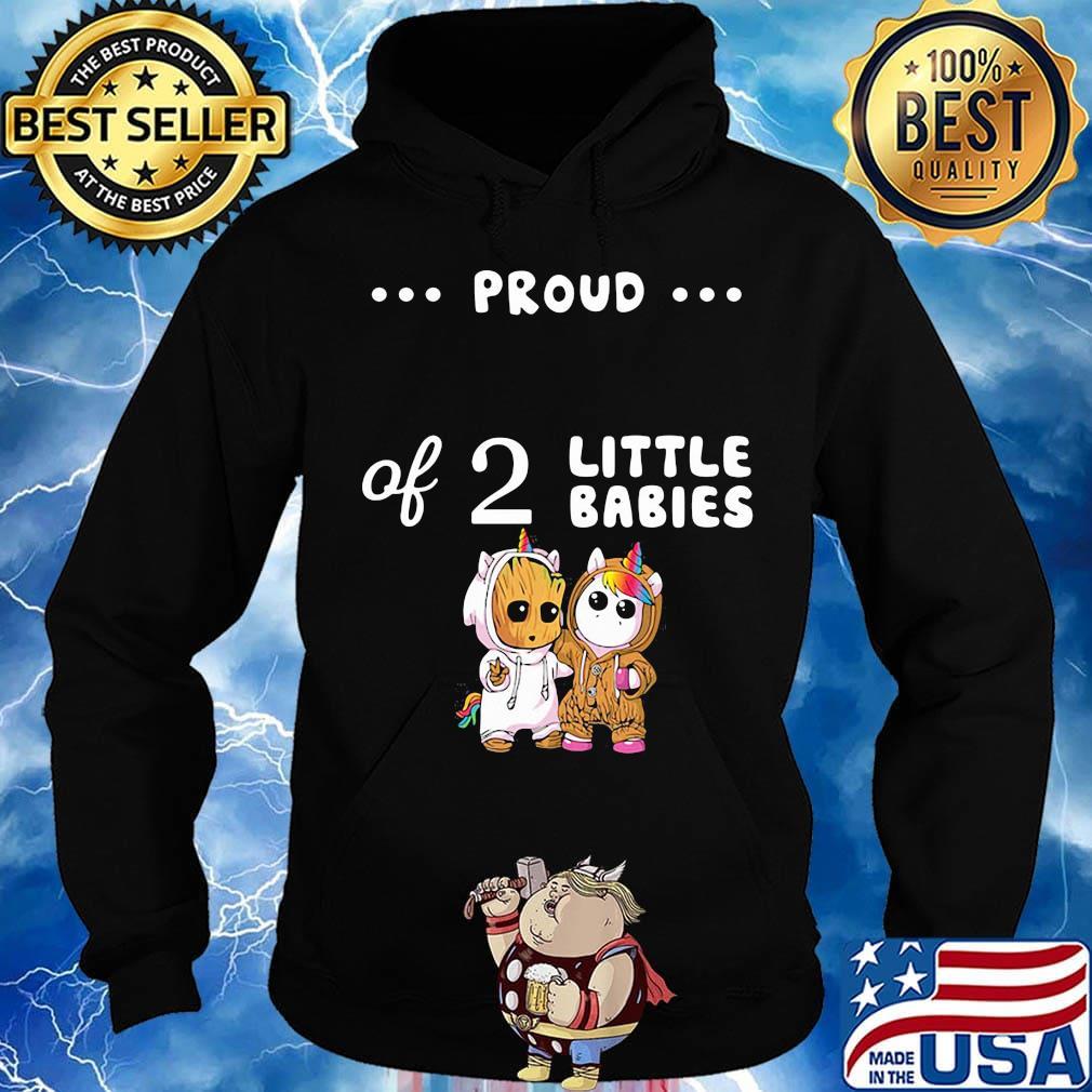 Mens Little Unicorn Long Sleeve Crewneck Sweatshirt