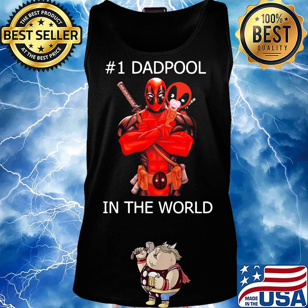 #1 Dadpool in the world s Tank top