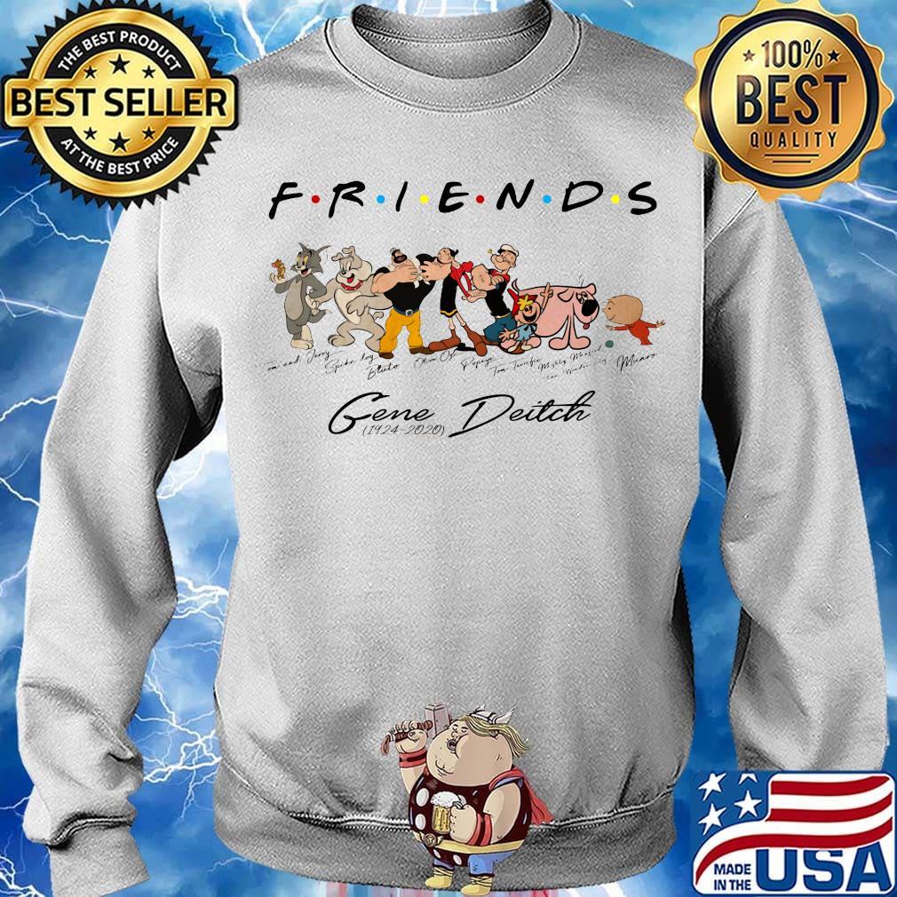 Friends gene deitch 1924 2020 signatures s Sweater