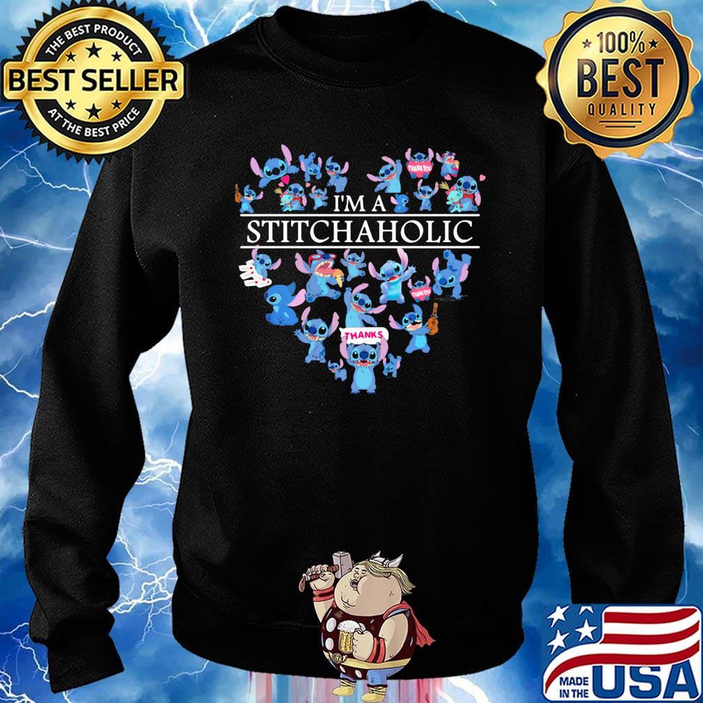 I'm a stitch aholic heart s Sweater