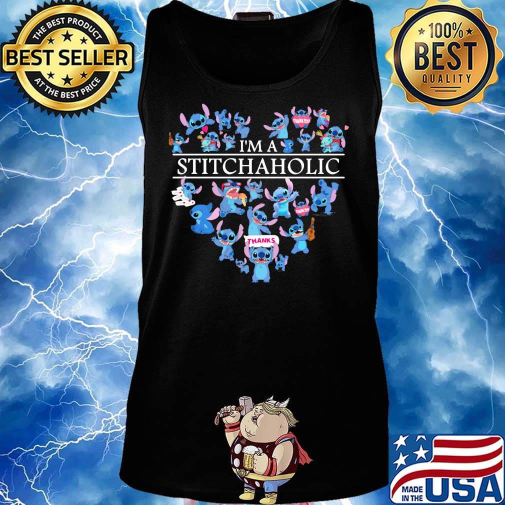 I'm a stitch aholic heart s Tank top