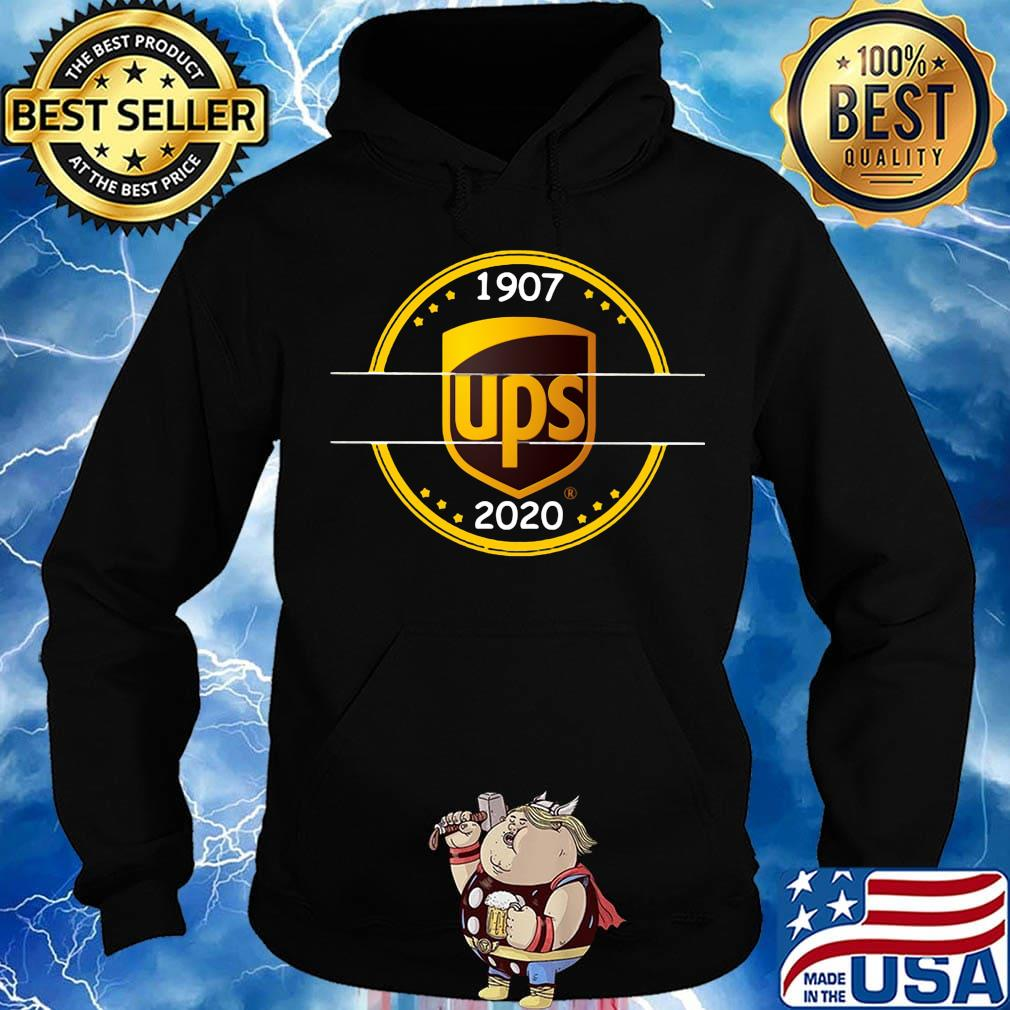 Official 1907 Ups 2020 Logo Shirt Hoodie Sweater Long Sleeve And Tank Top