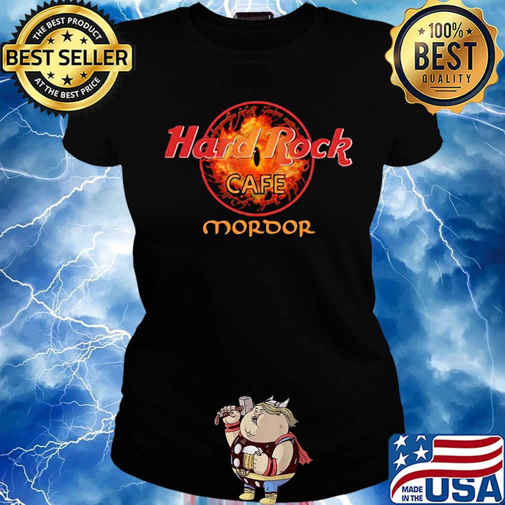 Official Hard Rock cafe Mordor s Ladies tee