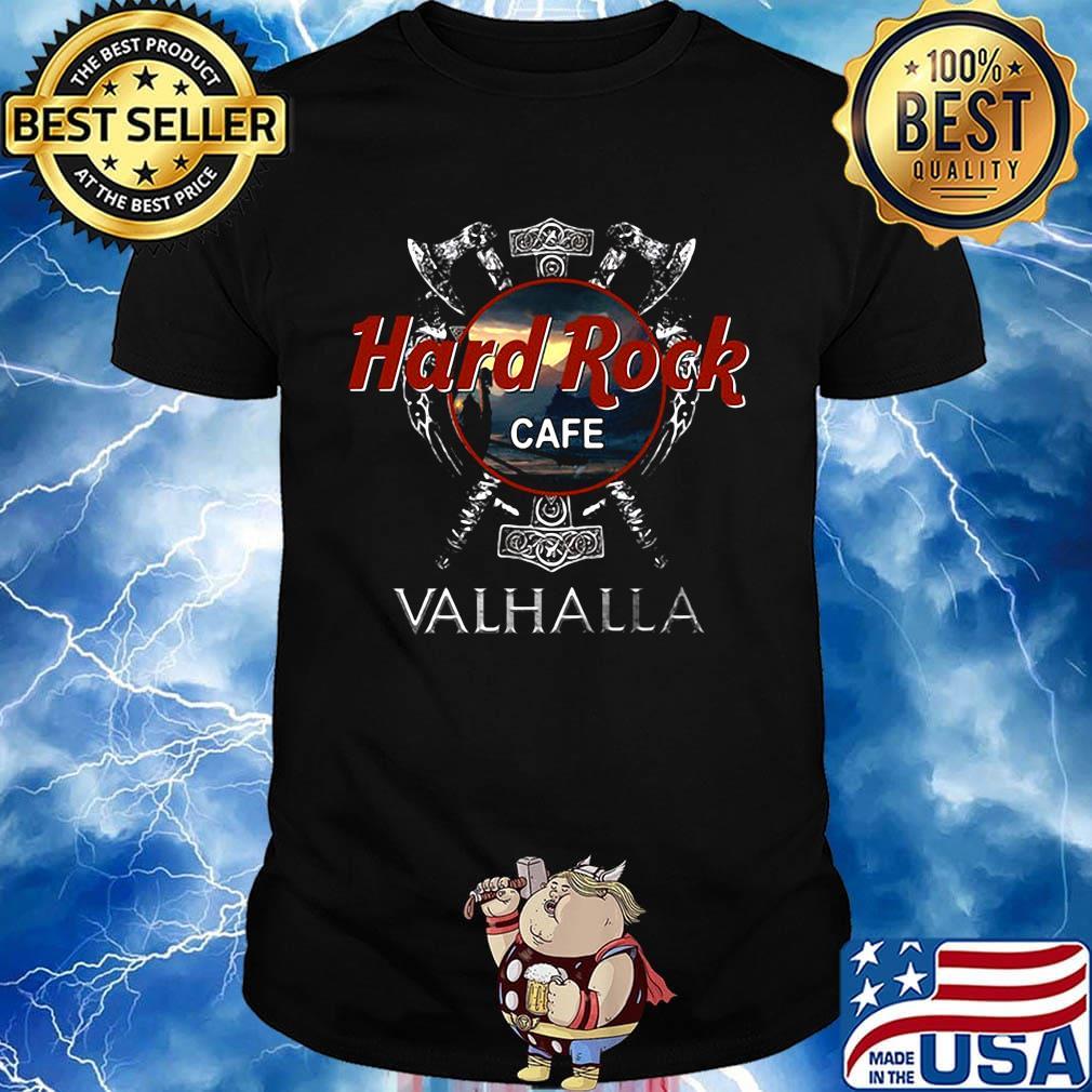 Official Hard Rock cafe Valhalla shirt