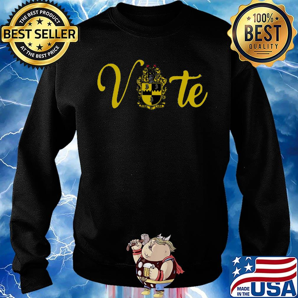 Vote alpha phi alpha logo s Sweater