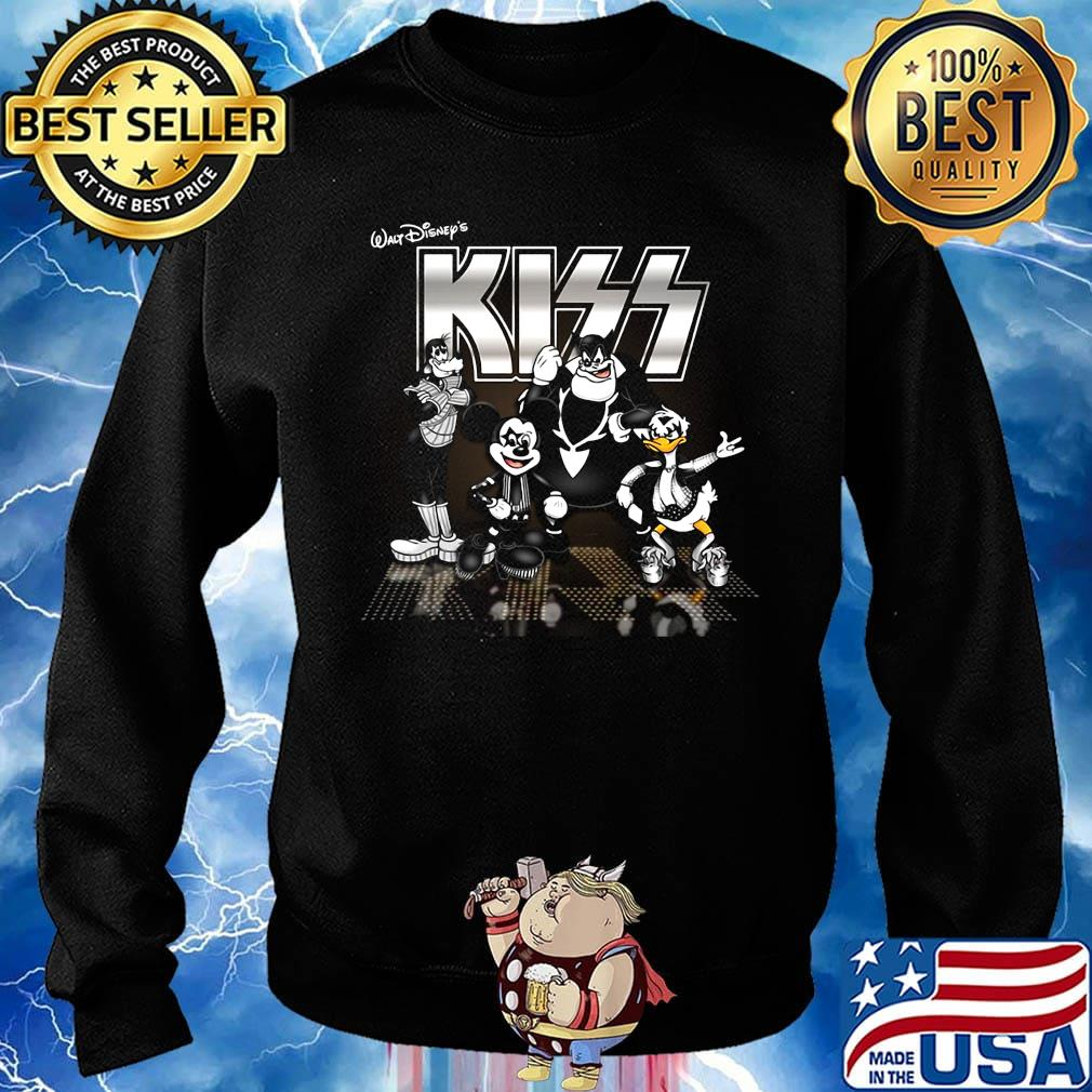 Walt disney's mickey mouse kiss band s Sweater