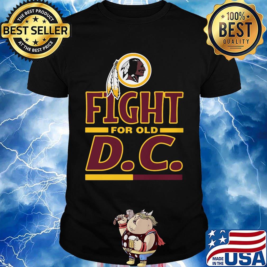 Washington redskins logo fight for old dc shirt