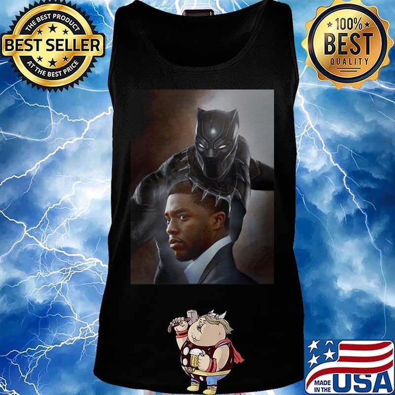 Black Panther Rip Chadwick Boseman Wakanda King Shirt Hoodie Sweater Long Sleeve And Tank Top