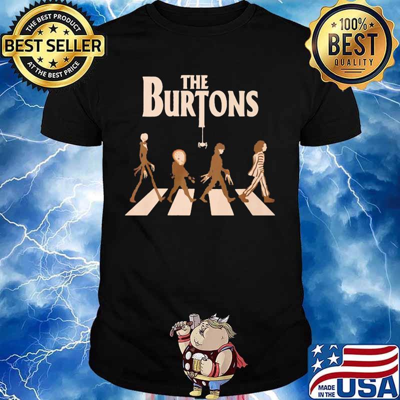 Halloween the burtons crossing the line shirt
