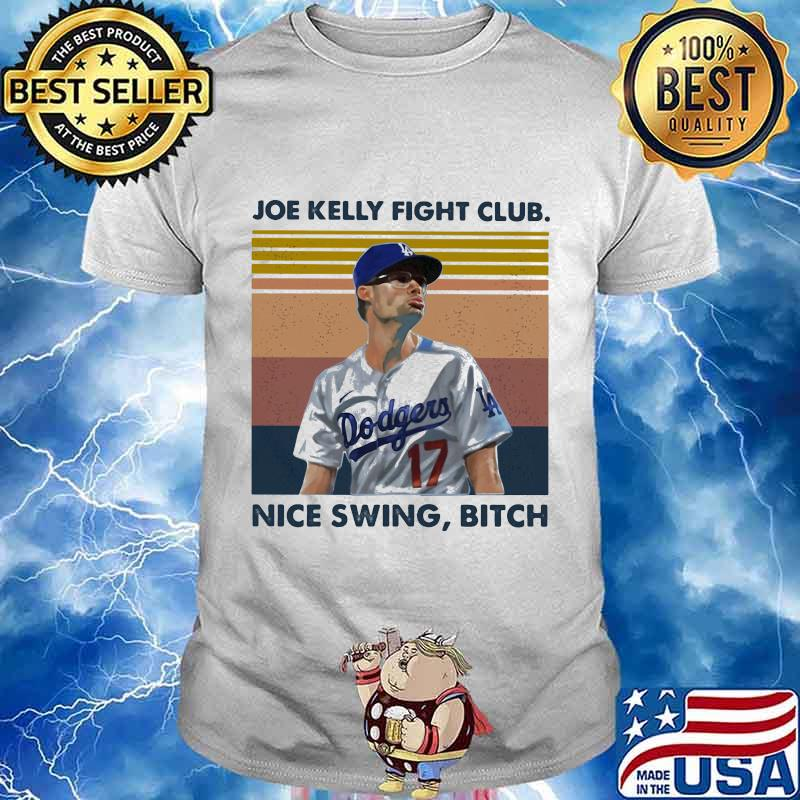 Joe kelly fight club nice swing bitch vintage retro shirt