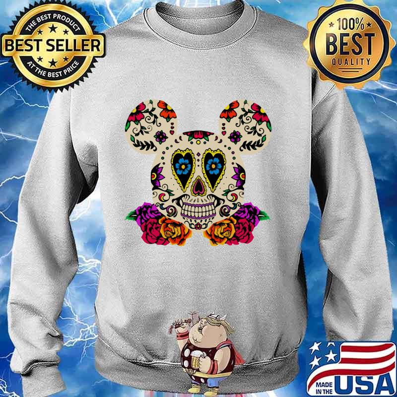 Sugar mickey mouse witch flowers s Sweater