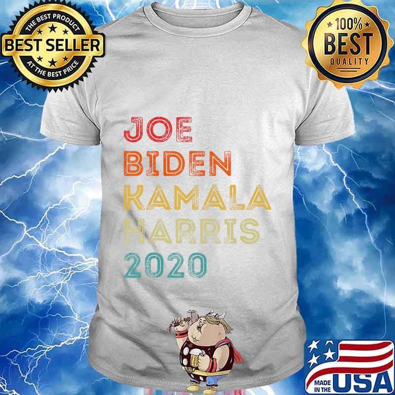 Vintage Joe Biden Kamala Harris 2020 Biden Harris Supporter T Shirt Hoodie Sweater Long Sleeve And Tank Top