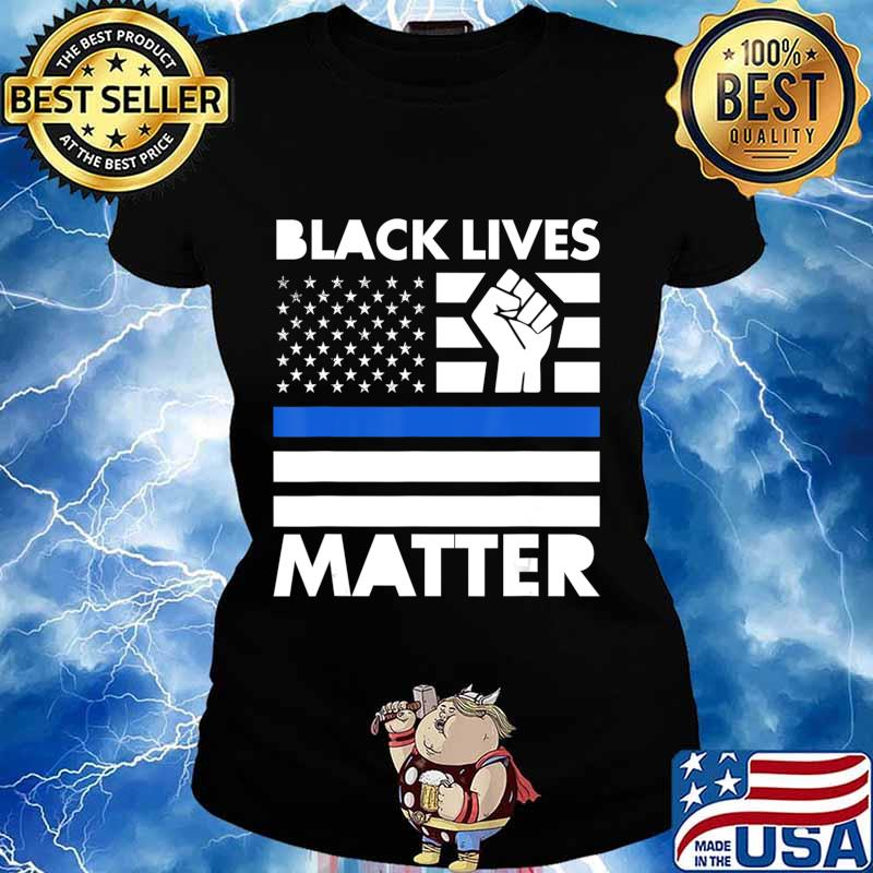 Black Life Matters protest racism BLM revolution movement T-Shirt Ladies tee