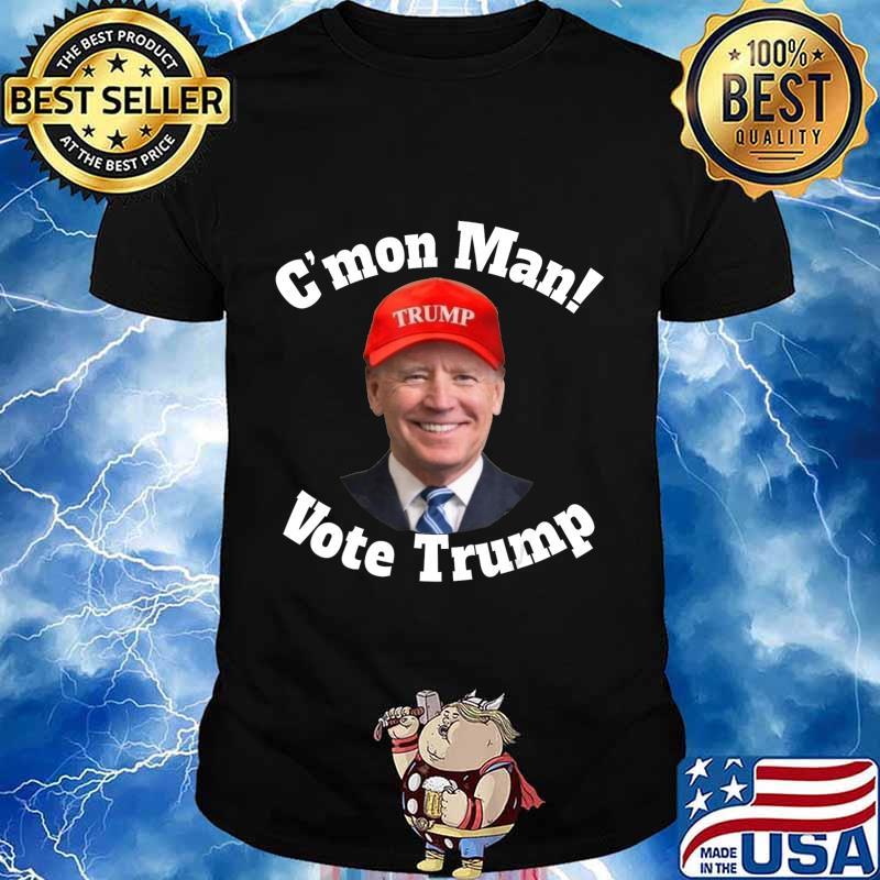 C'mon Man! Pro Trump Biden Votes Trump Halloween T-Shirt