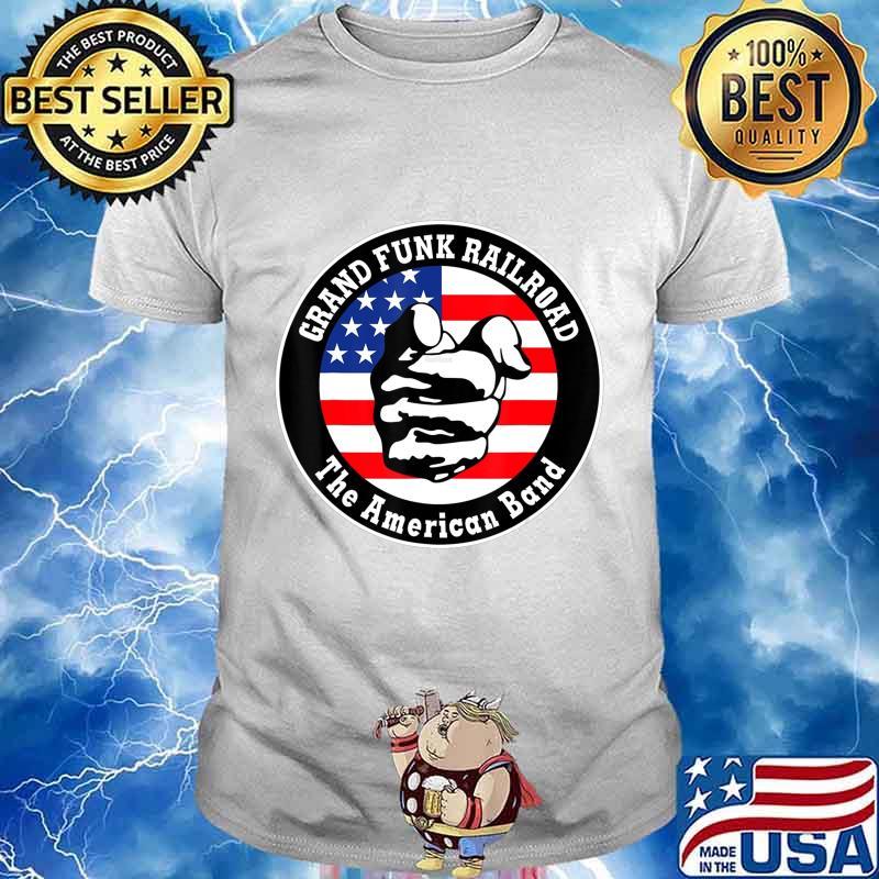 Grand Funk Railroad The American band T-Shirt