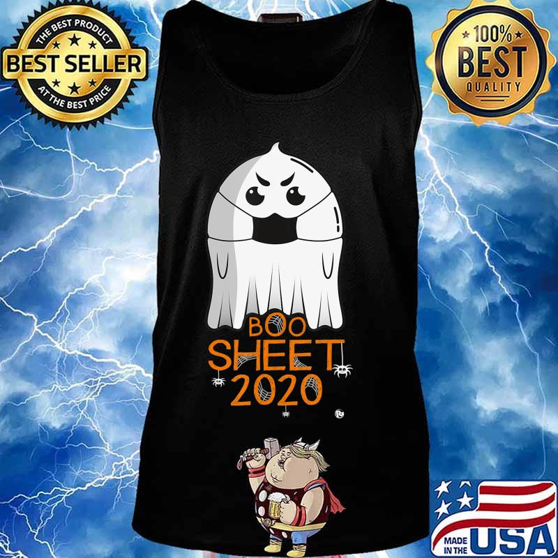 Halloween 2020 Costume. Ghost with Mask. 2020 IS BOO SHEET T-Shirt Tank top