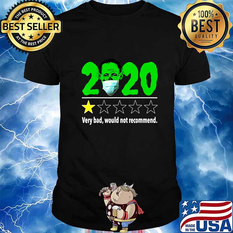 Halloween 2020 Reviews Halloween Funny 2020 Review   Zombie with Mask Halloween T Shirt