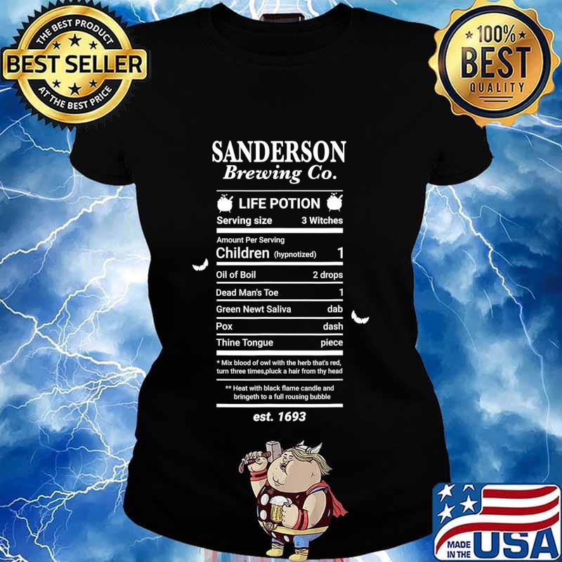 Halloween Hocus Pocus Graphic Sanderson Scary Spooky Witch T-Shirt Ladies tee