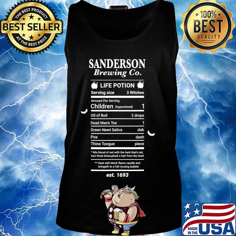 Halloween Hocus Pocus Graphic Sanderson Scary Spooky Witch T-Shirt Tank top