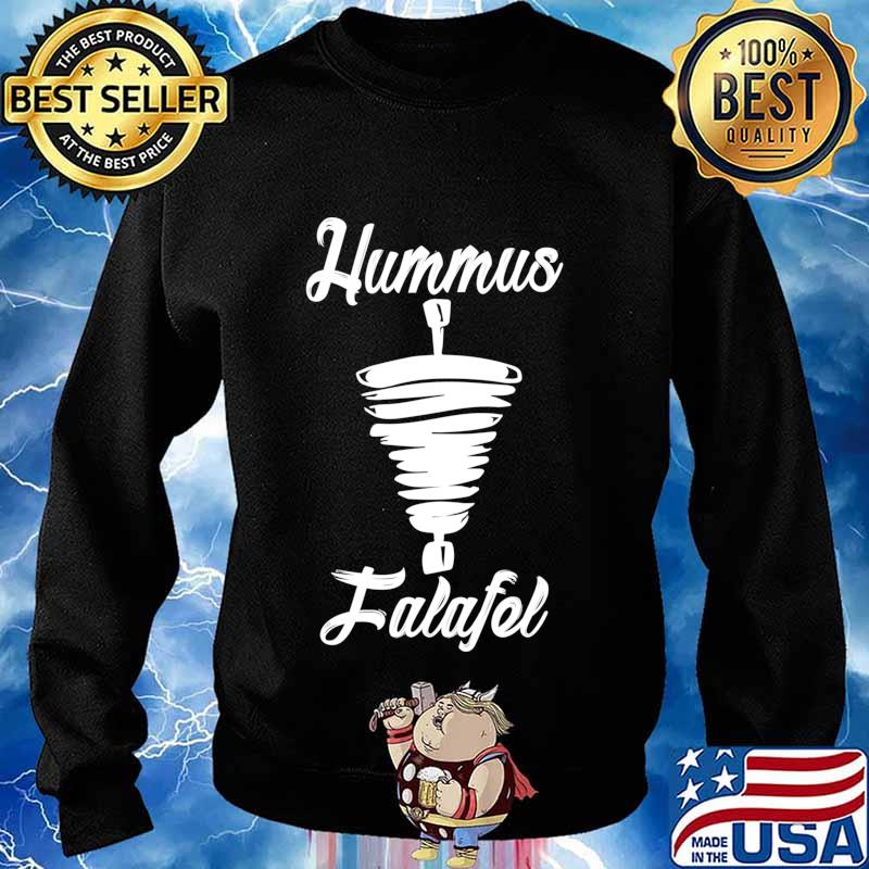 Hummus and Falafel Long Sleeve T-Shirt Sweater
