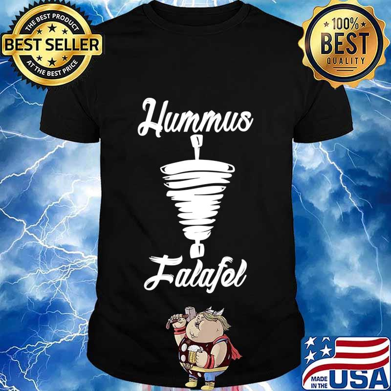 Hummus and Falafel Long Sleeve T-Shirt