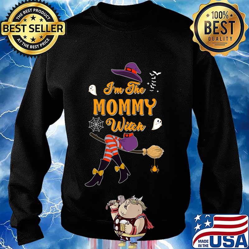 I'm The Mommy Witch Halloween Matching Group Costume T-Shirt Sweater