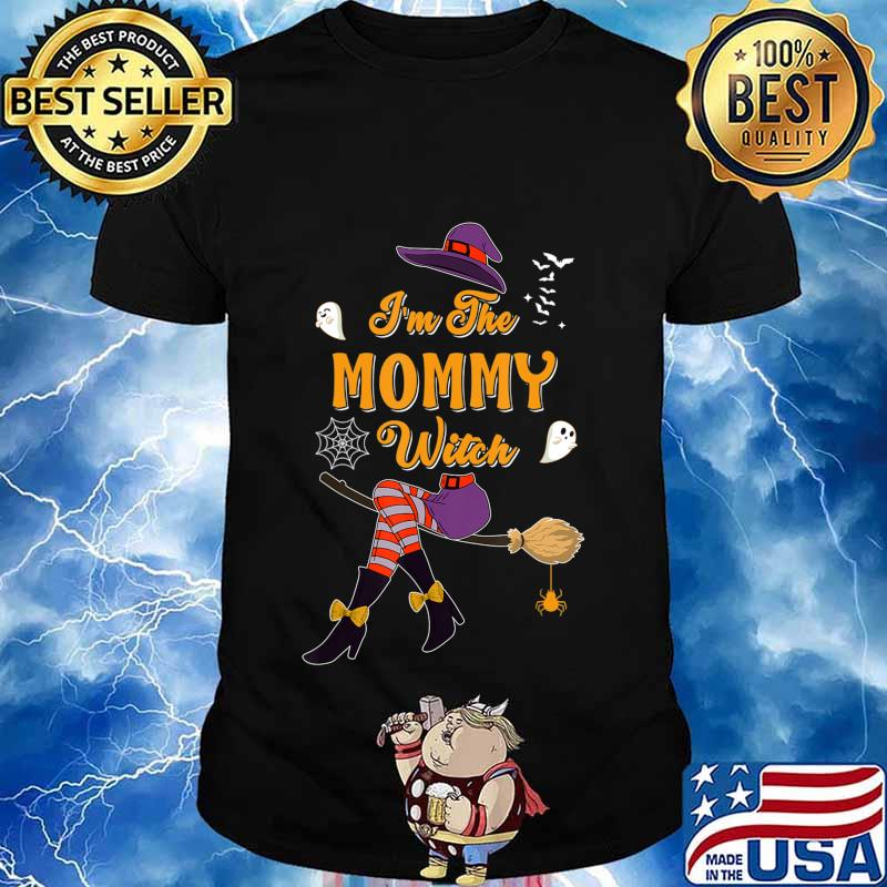I'm The Mommy Witch Halloween Matching Group Costume T-Shirt
