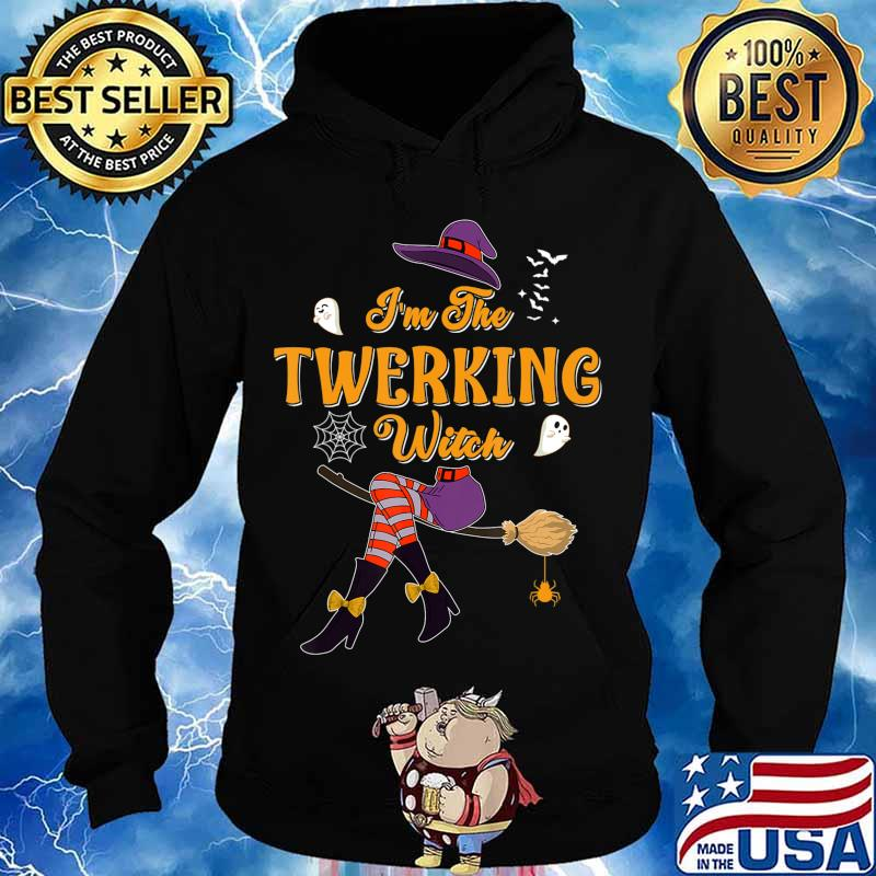 I'm The Twerking Witch Halloween Matching Group Costume T-Shirt Hoodie