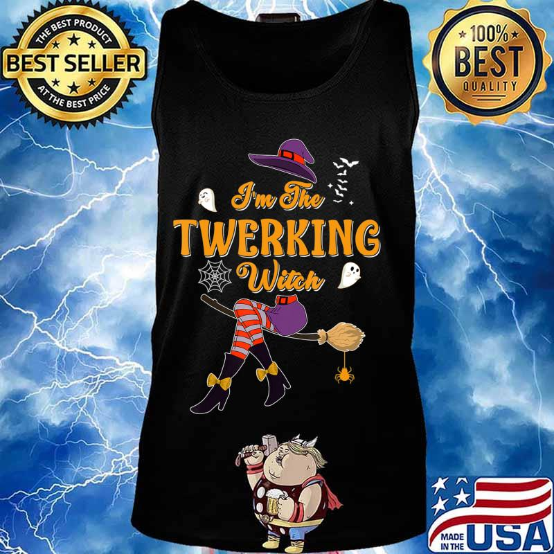I'm The Twerking Witch Halloween Matching Group Costume T-Shirt Tank top