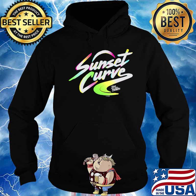 Julie And The Phantoms Sunset Curve Logo T-Shirt Hoodie