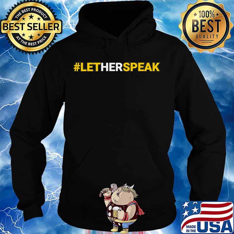 #LetHerSpeak Jo Jorgensen Libertarian For President Shirt Hoodie