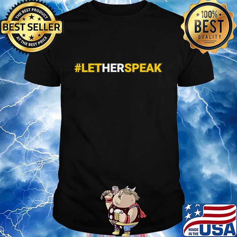 #LetHerSpeak Jo Jorgensen Libertarian For President Shirt