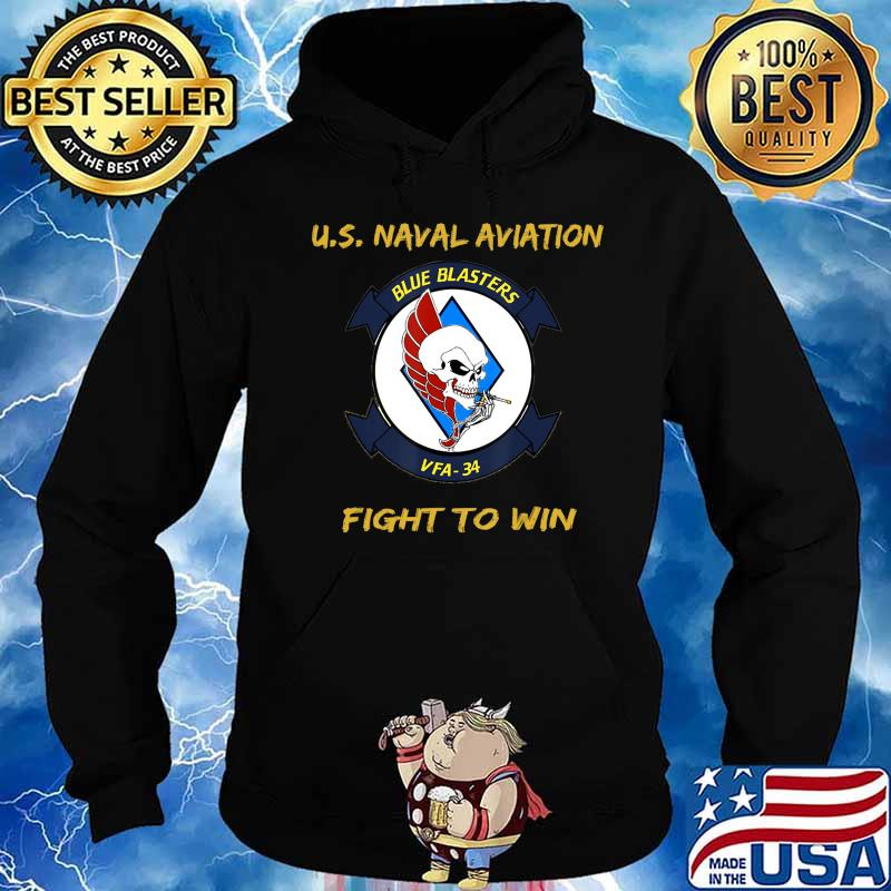 Mens Naval Aviation FA18 Hornet VFA34 history, gift T-Shirt Hoodie