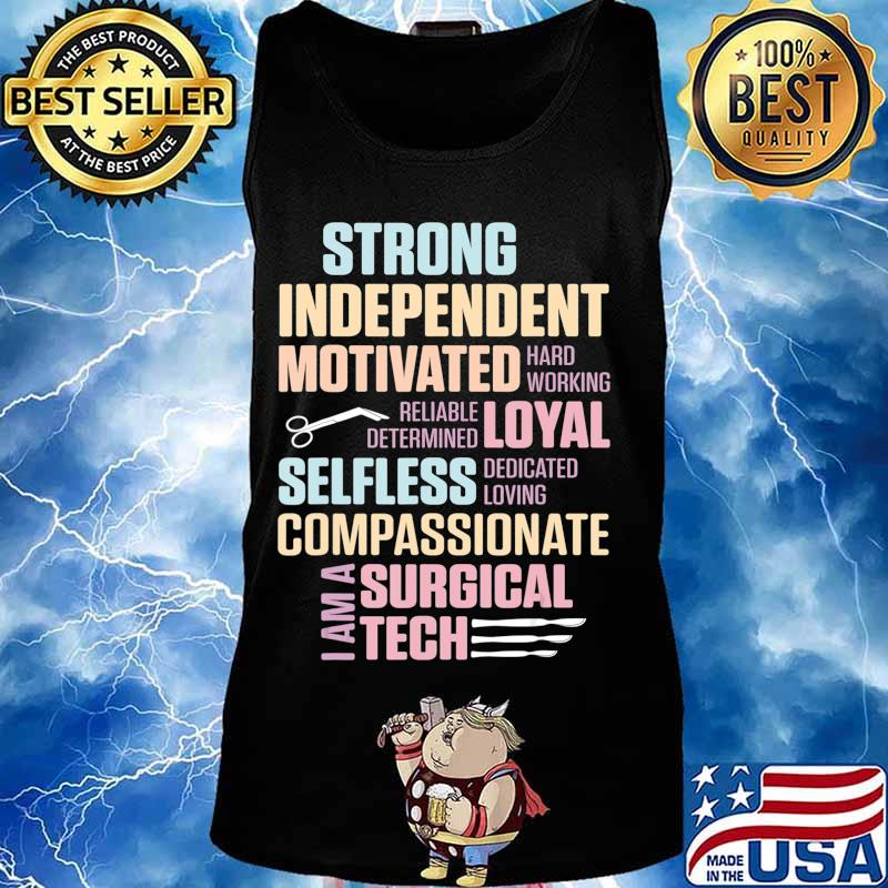 Surgical Technologist Rely Scrub Tech T-Shirt Tank top