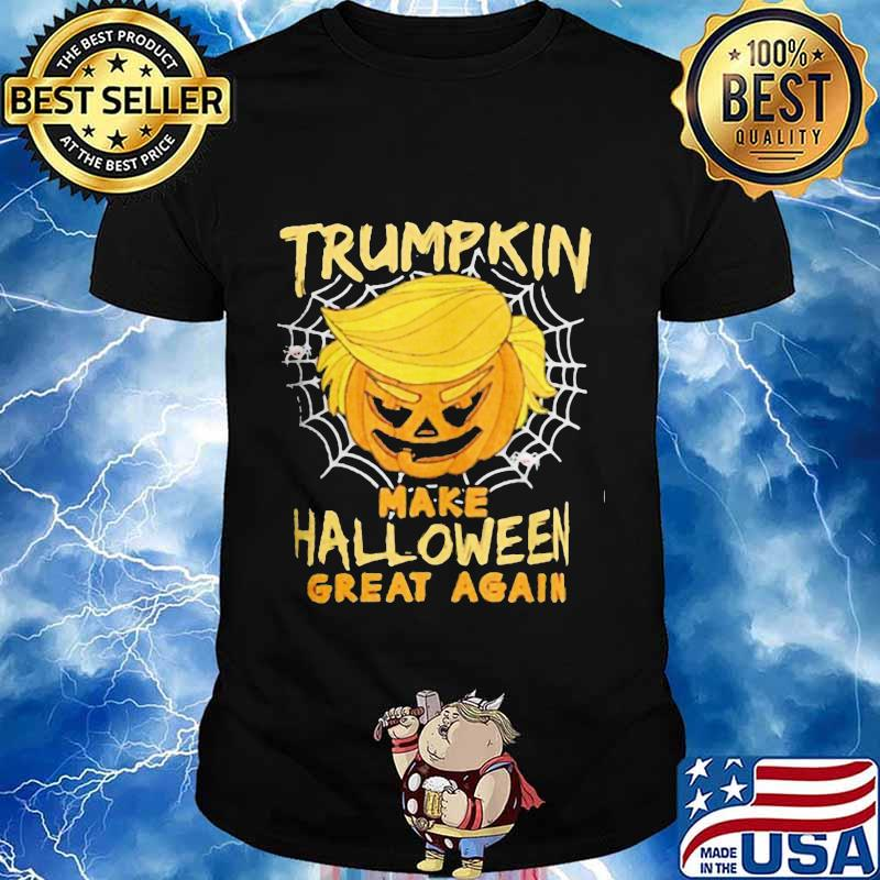 Trumpkin trump make halloween great again shirt