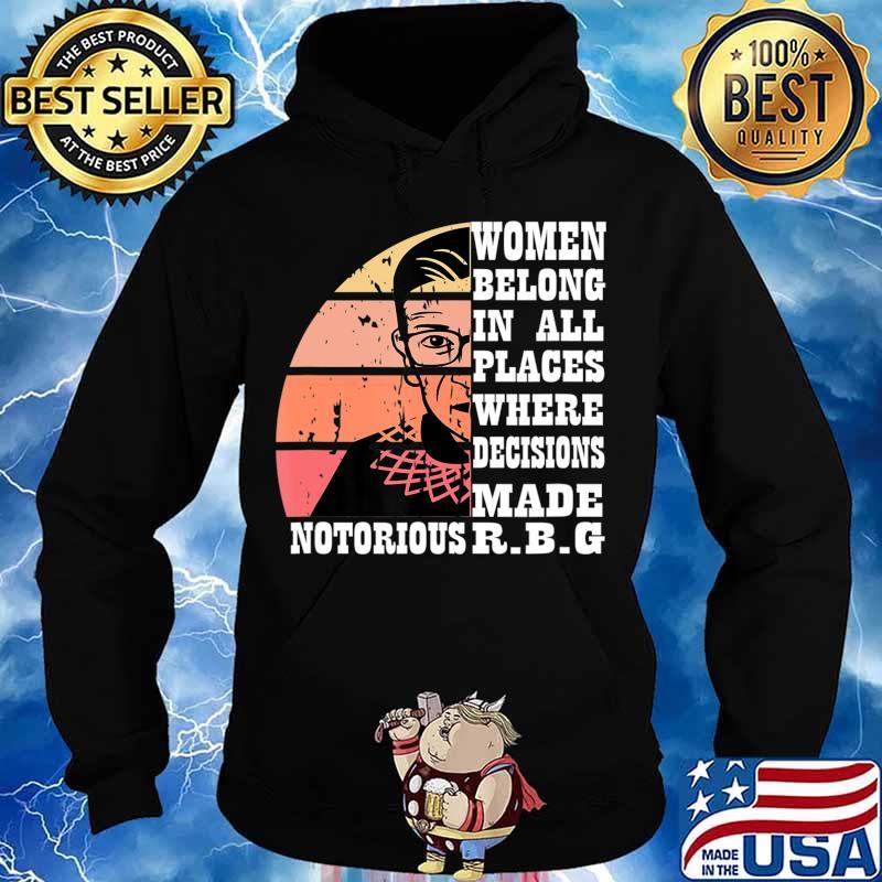 Vintage Notorious RBG T-Shirt Hoodie