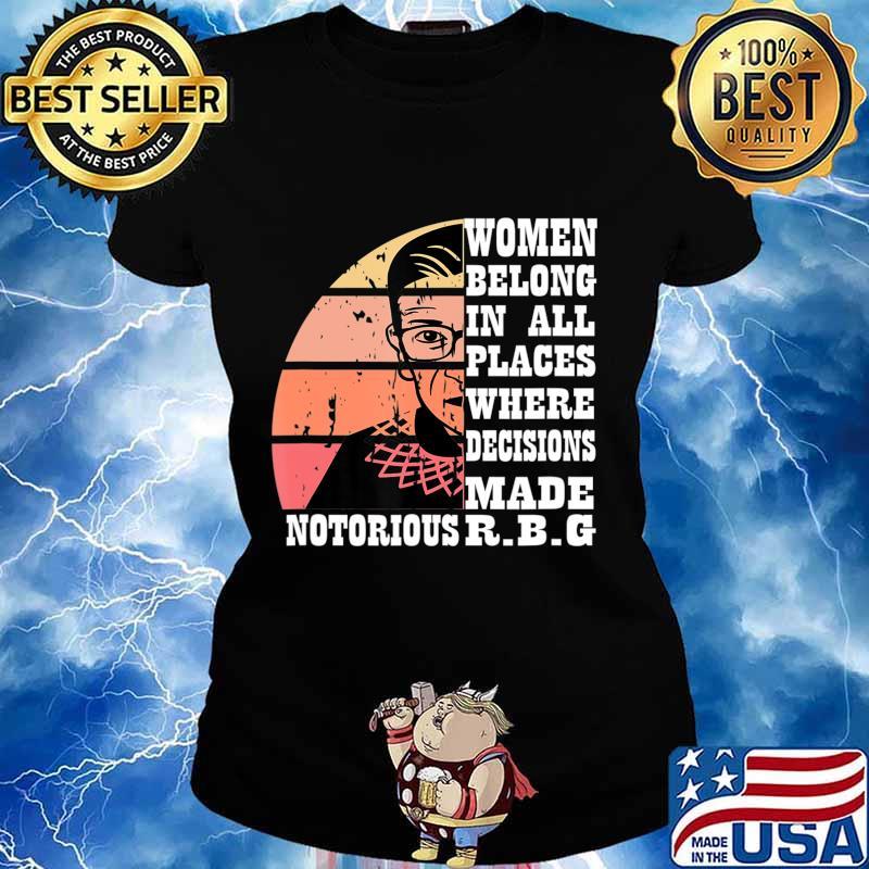 Vintage Notorious RBG T-Shirt Ladies tee