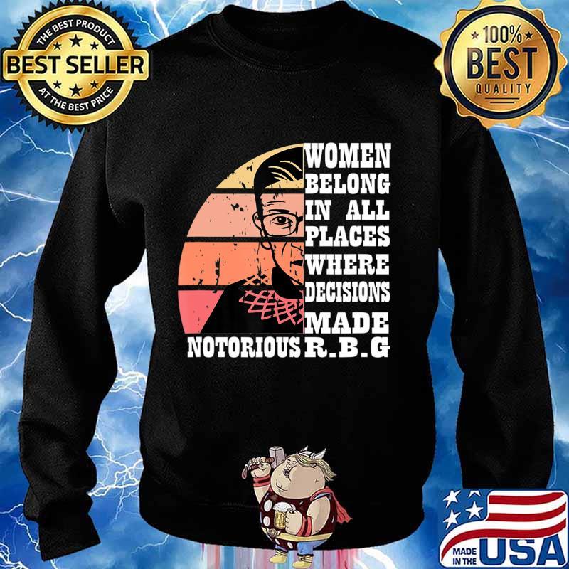 Vintage Notorious RBG T-Shirt Sweater